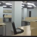 Vista de la sala principal con los puestos personales.